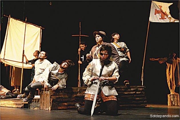 Escuela Nacional de Teatro Hombres Nuevos   Santa Cruz - Bolivia  Foto El Deber