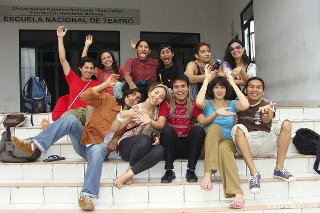 Escuela Nacional de Teatro Hombres Nuevos   Santa Cruz - Bolivia   Foto almazen.biz