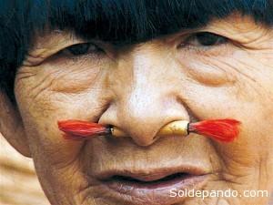 Bosé Yacu, la última heroína Pacahuara, desterrada de su territorio natal.
