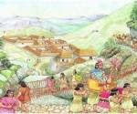 Durante la expansión incaica que suponía la conquista quechua desde el Cusco sobre los pueblos aymaras del Collasuyo, los estadistas incas emprendieron un proceso masivo de desplazamientos poblacionales conocidos como «mitimaes», cuya finalidad era reemplazar a las poblaciones rebeldes aymaras con habitantes leales al dios quechua Inti, «relocalizando» grandes masas en todo el imperio para garantizar esa emergente hegemonía sustentada sobre una intensificación de la producción agrícola en esta zona. Cochabamba estuvo en el centro de esa estrategia llevada a cabo durante el incanato de Huayna Cápac, quien gobernó entre 1493 y 1525. Según Teresa Gisbert, el emperador Huayna Cápac decidió que el centro y cabeza de playa del imperio para la repartición de mitimaes sería Cochabamba («Kochaj-pampa»), pues era «un valle fértil que después de la guerra con los naturales había quedado completamente deshabitado». Tristan Platt explica con mayor detalle aquel proceso: «Así, el Inka pudo emprender un vasto programa de producción maicera en el Valle de Cochabamba. Grupos mitimaq fueron traidos desde fuera del Qullasuyu para cuidar los depósitos donde se guardaban las cosechas bajo la dirección de un miembro de la élite inka. Los habitantes nativos del valle (aymaras, nr) fueron enviados a defender la frontera chiriwana al Sudeste. Las tierras así vaciadas fueron trabajadas por 14.000 maluri (mitimaes rotativos, nr), enviados por los mallku de todo el Qullasuyu. Los trabajadores tenían sus propias parcelas, cedidas por el Inka, (...). En otros contextos, sin embargo, los Charka y los Karakara recibieron un tratamiento especial por parte de los inka; fueron seleccionados como sus guerreros predilectos, y liberados de toda fanea aparte de la producción maicera para el Estado en el Valle de Cochabamba». David Pereira, que dirige el Instituto de Investigaciones Arqueológicas y Antropológicas de la Universidad Mayor de San Simón (UMSS), sostiene que «en el sector Oeste del valle centr
