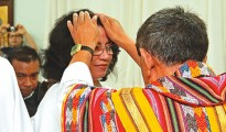 Marilyn Benítez fue consagrada en la iglesia Hosanna de Santa Cruz. | El Deber