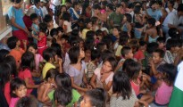 Niños Esse Ejja en el municipio Gonzalo Moreno. | Foto Silvia Antelo Aguilar