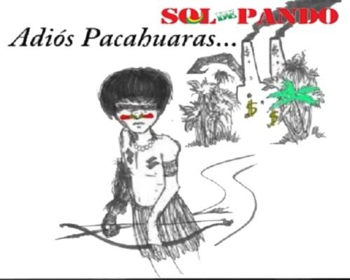 Caricatura publicada en la edición Nro. 18 de Sol de Pando, marzo del 2011.