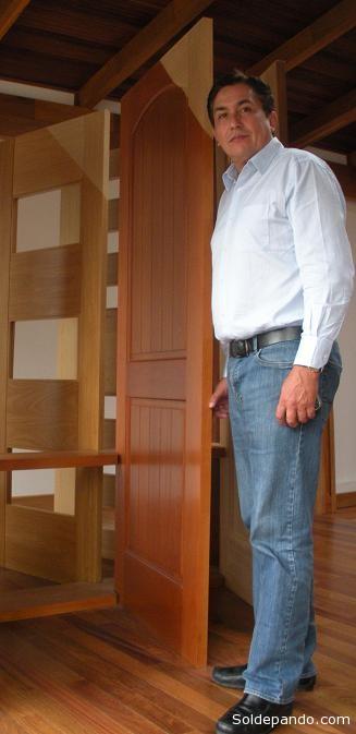 Mauricio Etienne, principal accionista de ma empresa Mabet. | Foto Archivo Sol de Pando