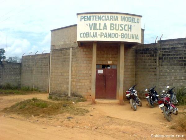 En la cárcel de Cobija solo tres reos podrían salir en libertad.