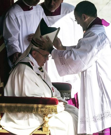 En el Vaticano se celebró la ceremonia de entronización del pontífice Francisco. | Foto RIA Novosti