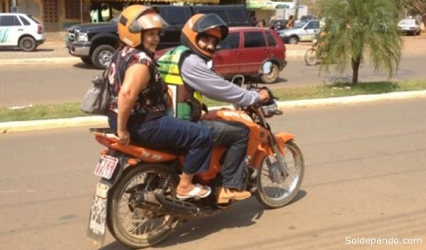 Em municipio acreano do Epitaciolandia, uma placa de moto-taxi está custando em média 45.000 reais