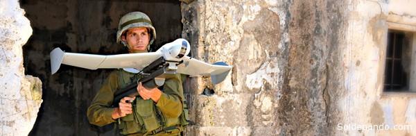La industria militar israelí es la principal proveedora de drones de diversas escalas en el mundo.