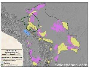 El paisaje de Madidi-Tambopata, hogar de más de 14 mil tapires amazónicos.