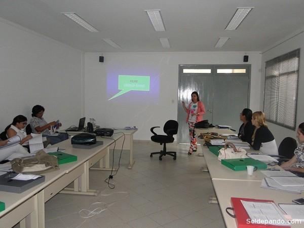 A capacitação ocorreu nos dias 27 a 28 de maio no auditório do Conselho Regional de Medicina do Acre | Foto Assessoria Sesacre