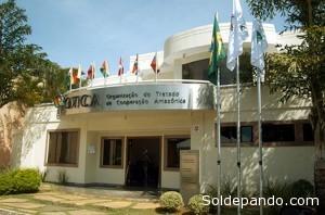 La sede de la OTCA, en Brasilia.