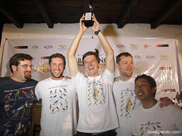 """El equipo de la Lousiana State University gana por segunda vez el denominado campeonato mundial de """"birdwatchers"""" (miradores de aves), por no existir otra prueba similar, rubricando el triunfo conseguido en el Cusco el año pasado."""