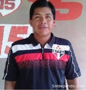 Oziel Gabriel indígena terena de 35 años muerto por un disparo de la Policía Federal.