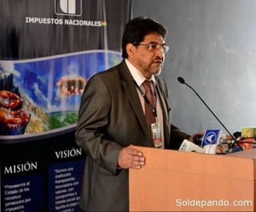 Lic. Roberto Ugarte Quispaya, Presidente Ejecutivo del SIN.