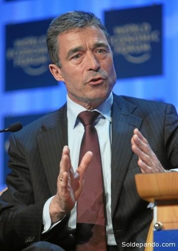 Anders Fogh Rasmussen, Secretario General de la OTAN.
