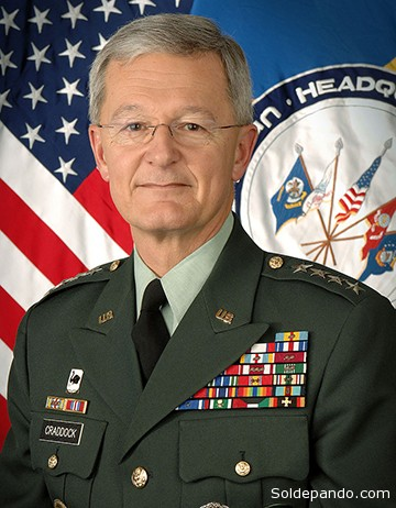 Bantz John Craddock, Comandante Supremo de la OTAN.