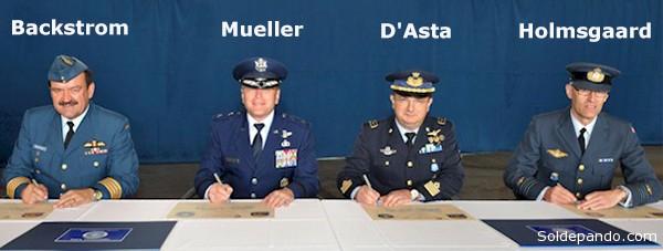 Menos de un mes antes del incidente de Viena hubo relevos en el componente E-3A de la Fuerza AWAC. El general John Backstrom fue reemplazado por Andrew Mueller en el Comando General, y Marco D'asta relevó a Knud Holmsgaard en el comando de Operaciones e Inteligencia aérea.