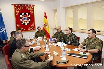 Una reunión presidida por el Jefe del Estado Mayor de España en la OTAN.   Foto Archivo Datos & Análisis