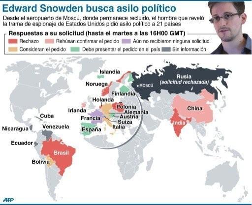 Periplo de Snowden