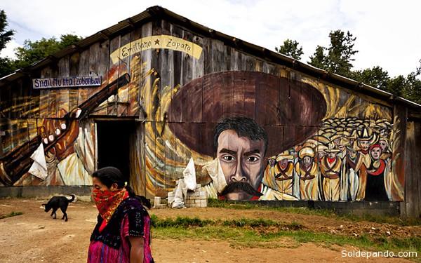 """""""Nuestro general Zapata nos enseñó que el poder pudre la sangre y enturbia el pensamiento""""."""
