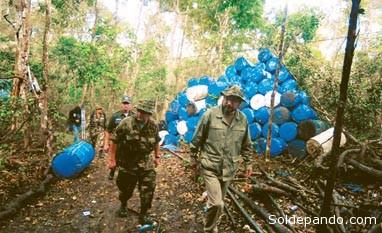 El 5 de julio de 2009, Fabricio Ormachea estuvo en un operativo antidroga con Alfredo Rada.   Foto Archivo El Deber
