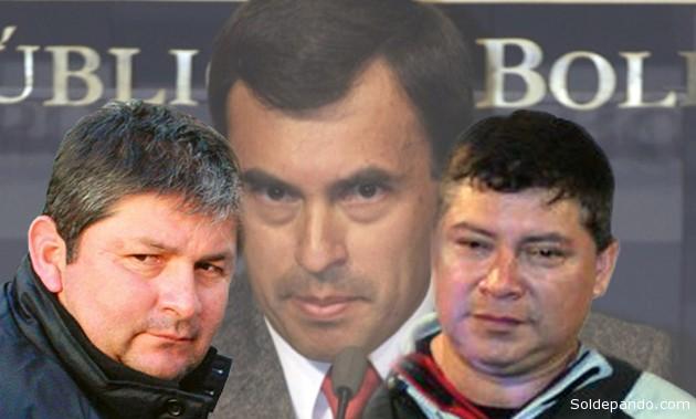 Fabricio Ormachea y Mauro Vásquez, un policía corrupto y un narco-sicario, gozaron durante cuatro años la protección del Ministro de la Presidencia. | Fotomontaje Sol de Pando