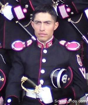 El subteniente de Ejército Oscar Gironda Porrez, la primera víctima mortal por la emboscada cocalera del sábado en la zona de Apolo. | Foto Erbol