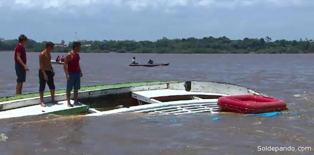 La nave realizaba procesión pluvial del Cirio de Amapá, una tradición religiosa muy arraigada en la región amazónica donde los ríos son la principal vía de comunicación y transporte.
