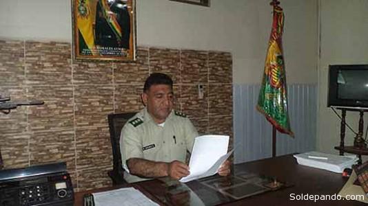 El coronel Raúl Encinas Espinoza, nuevo Comandante Policial de la Región Amazónica. | Foto David Bernal