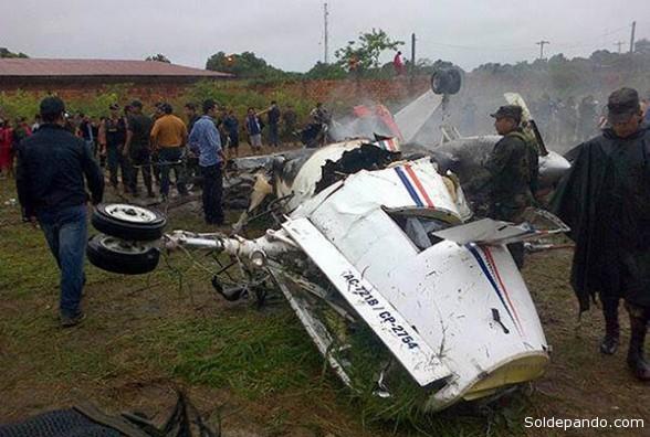Aerocon acatará sanciones de la DGAC por el accidente. | Foto APG