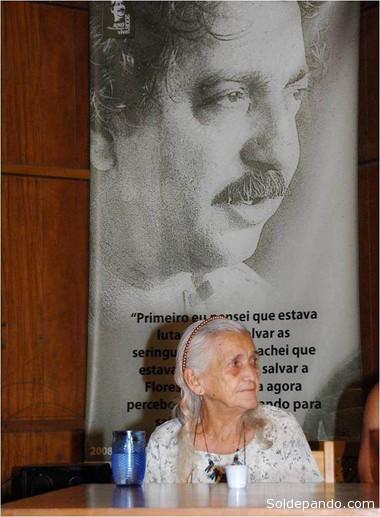 Ilsamar, la viuda de Chico Mendes, 25 años después.