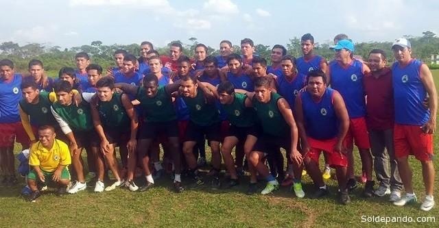 El equipo pandino se alista para lograr el pase a la Liga de Fútbol Profesional.