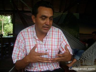El alcalde Nuñez estimó que se gastará más de un millón de bolivianos para atender a los damnificados del deslizamiento y los demás estragos que causen las lluvias.