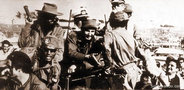 La guerrilla cubana comandada por Fidel Castro tomó el poder tras una campaña en Sierra Maestra que culminó en La Habana el año nuevo de 1958.