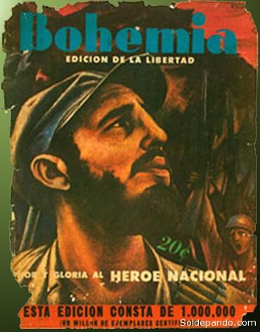 """Portada de la revista """"Bohemia"""" publicada el 11 de enero de 1959."""
