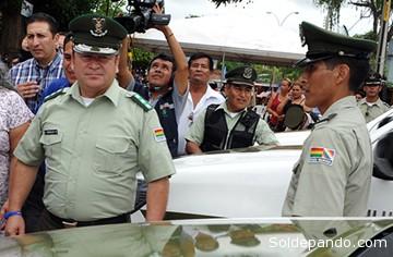 El coronel Enrique Nogales Medina, Comandante Departamental de la Policia de Pando. | Foto Archivo