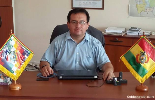 Jorge Luís Sotelo Beltrán, Director de la Procuraduría General del Estado en Pando.