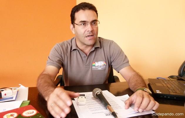 l Dr. Kalil Arab, Presidente del TED-Pando, anuncia que la logística electoral en el Departamento ya está en marcha con el despliegue de un Presupuesto Electoral proyectado hasta el año 2015. | Foto Alex Castedo