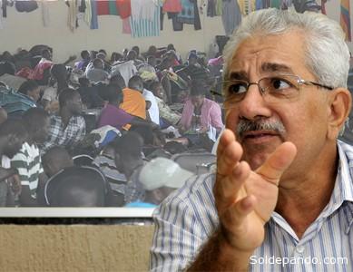 Nilson Mourão, Secretário de Justiça e Direitos Humanos do Estado de Acre, fronteira com Bolivia e Peru.   Fotomontaje Sol de Pando