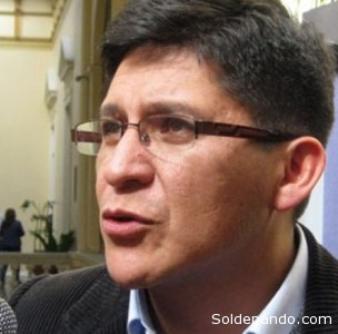 """Maldonado: """"Considero que es necesario la declaratoria de desastre natural"""".   Foto ANF"""
