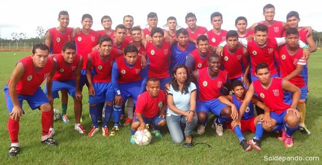 Los nuevos héroes del Acre. Llegó la hora de que el fútbol boliviano cuente en su profesionalismo con el primer equipo amazónico de la historia. | Foto Cortesia Diandrita Reis Cavalcante