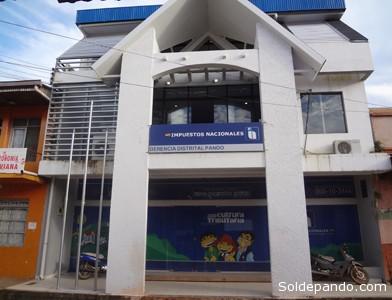 La nueva Distrital del SIN en Pando está ubicada en la céntrica calle Beni de la capital pandina.