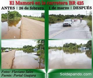 El seguimiento de la prensa brasileña demuestra que el río Mamoré es el próximo afluente boliviano del Madeira que colapsará después del río Beni y el Madre de Dios.