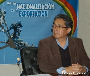 Arturo Iporre, Gerente general de Ende.   Foto ABI