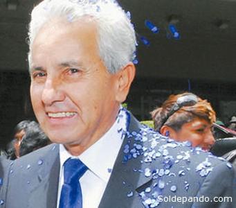 Freddy Berzatti, uno de los militares más privilegiados del régimen. Dejó el Senado para encargarse de la Embajada de Bolivia en Washington por necesidades familiares.