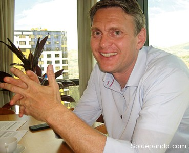 El embajador Ole Thonke.   Foto Energy Press