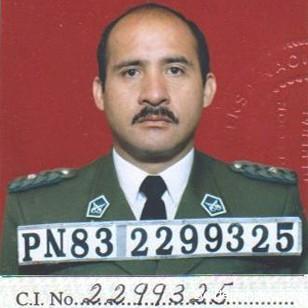 Última foto oficial del mayor Vargas, 2003.