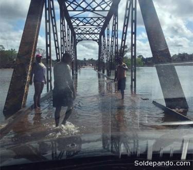 A partir do dia 16/05/2014,  a chuva deve se concentrar apenas na Amazônia boliviana, com volumes esperados variando de 20 a 50 mm. | Foto Rondoniagora