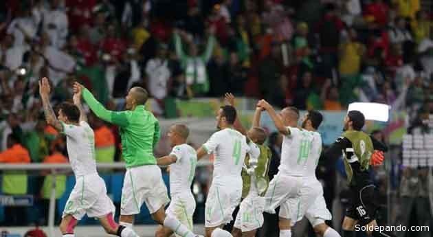 El resultado dejó a Argelia con tres puntos en el grupo H, a la sombra de Bélgica, que horas antes había derrotado por 1-0 a Rusia y con seis puntos en las alforjas anticipaba su pase a los octavos de final. | Foto EFE
