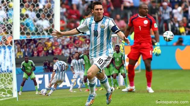 Los dos goles de Messi ante Nigeria, el más espectacular el segundo tanto por tiro libre, reavivan la esperanza argentina de llegar hasta las últimas consecuencias. | Fotomontaje Sol de Pando